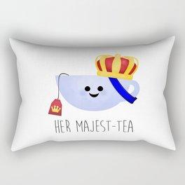 Her Majest-tea Rectangular Pillow