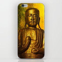 golden balance iPhone Skin