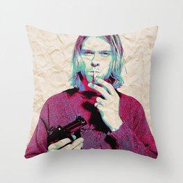 Kurt i Throw Pillow
