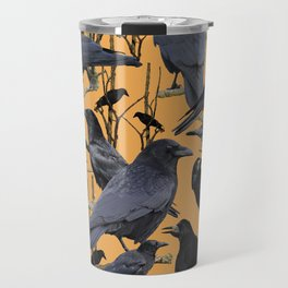 Crow | Corvidae Travel Mug