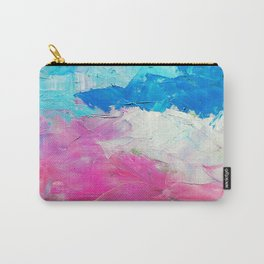 Colorful Oil Painting Carry-All Pouch