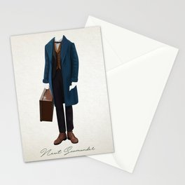 Newt Scamander Costume Stationery Cards