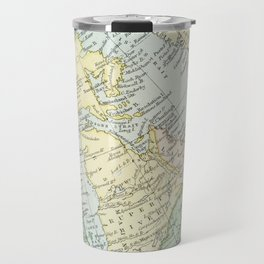 Vintage Map of The East Of Canada Travel Mug
