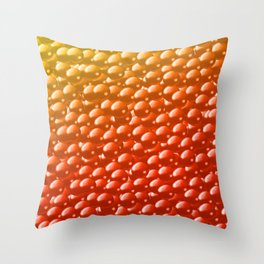 Fish Roe Throw Pillow