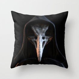 Birdman Throw Pillow