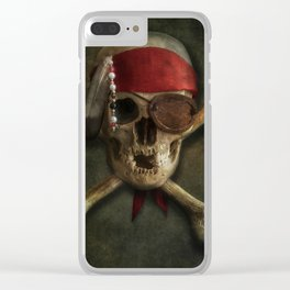 Once a pirate Clear iPhone Case
