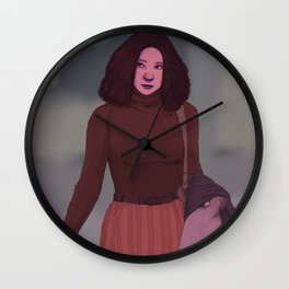 Street II (tracing) Wall Clock
