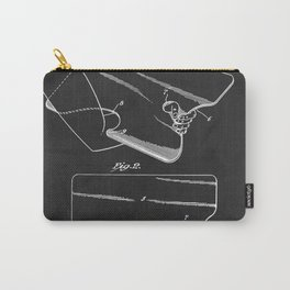 1942 Artist Palette Patent Carry-All Pouch