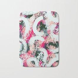 Scarlett abstract Bath Mat