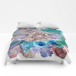 Aura Crystal Bouquet Mandala Comforters