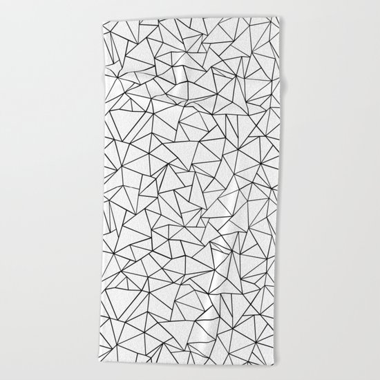 Shattered Beach Towel