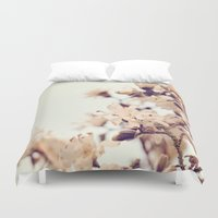 magnolia Duvet Covers featuring Magnolia by Dena Brender Photography