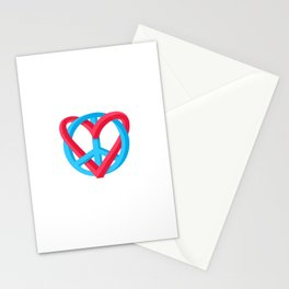 Peace + Love Stationery Cards