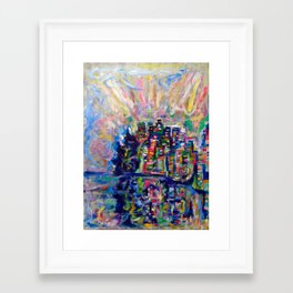 Vancouver Dream Framed Art Print