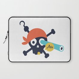 Arr Dead Pirate Laptop Sleeve
