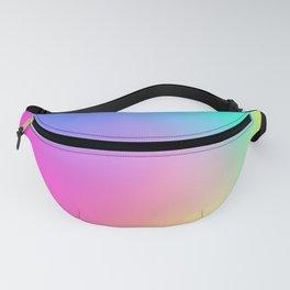 Rainbow Pastel Neon Haze Fanny Pack