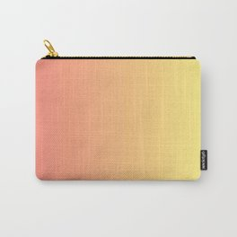 Color gradient 14. red and yellow. abstraction,abstract,minimalism,plain,ombré Carry-All Pouch