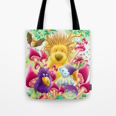 Moka, the magic lion Tote Bag