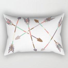 Arrow Stack Rectangular Pillow