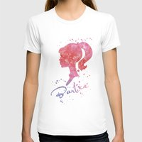 barbie T-shirts featuring Barbie by Carma Zoe