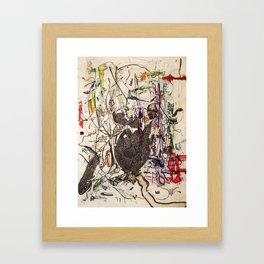 The Lady Who Gave Me a Stone Heart Framed Art Print