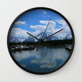 Colter Bay  - Jackson Lake Wall Clock