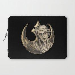 Luke Skywalker and Rebellion Insignia Laptop Sleeve