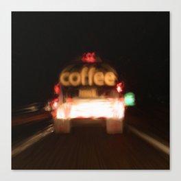 C - Coffee Tanker Canvas Print