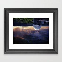 Teufelsberg inverted Framed Art Print