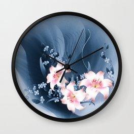 Lilien - lilies Wall Clock