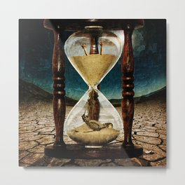 Sands of Time ... Memento Mori Metal Print