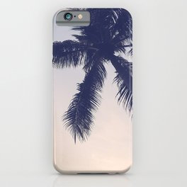 Palm trees Pastel iPhone Case