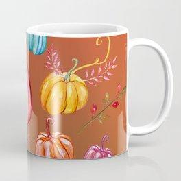 Colorful Pumpkins Coffee Mug