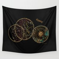 gypsy Wall Tapestries featuring Gypsy by Sherri of Palm Springs   Art and Design
