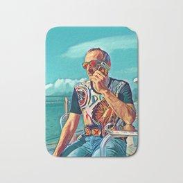Pop  Auto Portrait of The Artist Bath Mat