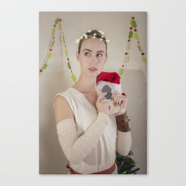 Scavenger Christmas Cosplay 1 Canvas Print