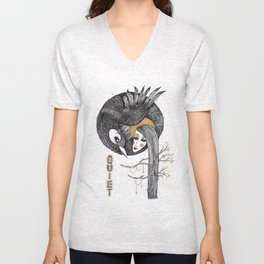 BIRD WOMEN 4 Unisex V-Neck
