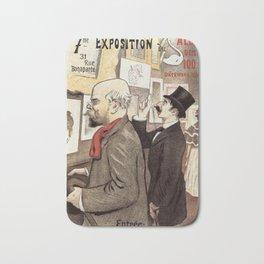 December 1894 7th Salon des 100 Art Expo Paris France Bath Mat