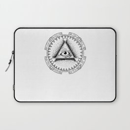 The Triangle-shaped Watcher Laptop Sleeve