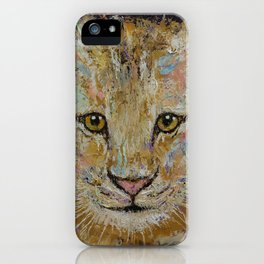 Lion Cub iPhone Case