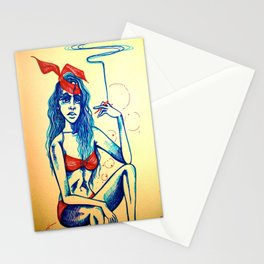 Hot blunt Stationery Cards
