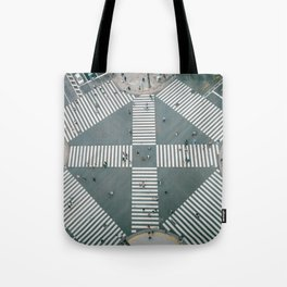 City Zebra Tote Bag