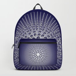 Metallic Sea Urchin Backpack