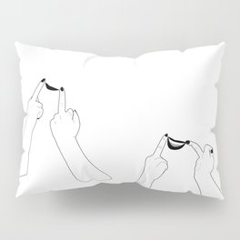 You girls are so pretty, you should smile Pillow Sham