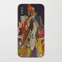 sneakers iPhone & iPod Cases featuring Sneakers by Jocelyn Mendoza