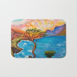 Sunset at Torrey Pines Bath Mat