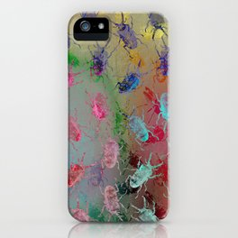 shiny stag beetles iPhone Case