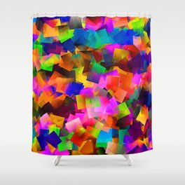 Street party Shower Curtain