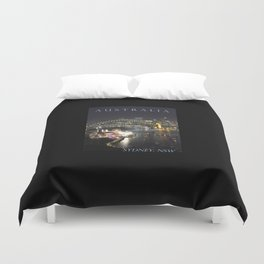 Sydney Night Lights Duvet Cover