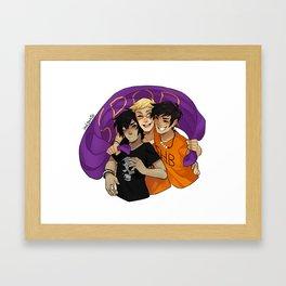 Big Three Framed Art Print